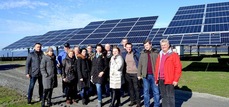 Білоруси вивчають український досвід з розвитку відновлювальних джерел енергії
