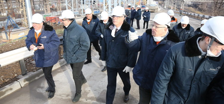 "PJSC ArcelorMittal Kryvyi Rih became the site for discussion of energy saving ""green technologies"""